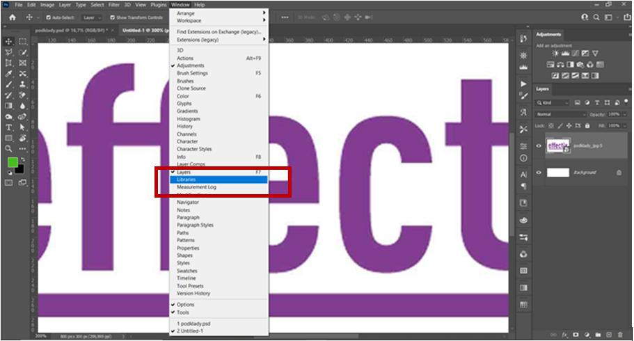 1-Photoshop-návod-preklik-na-libraries-effectix