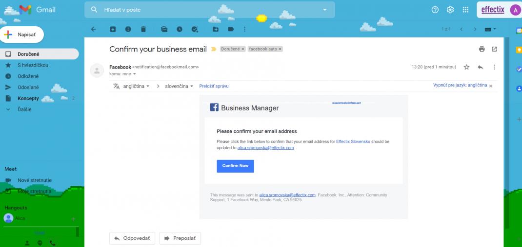 6-Ako si založiť Business manager-effectix