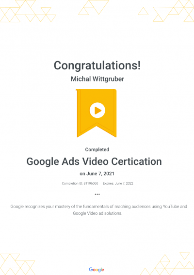 Google Ads Video Certification _ Google21-pdf