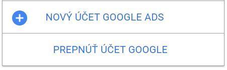 o3_novy ucet Google Ads